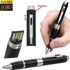 Mini 1080P 30FPS HD Spy DVR Hidden Camera Pen USB DV Audio Video Recorders Cam