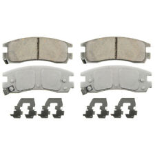 Disc Brake Pad Set-ThermoQuiet Disc Brake Pad Rear Wagner QC714