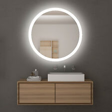 Hollywood Round Vanity Mirror Soft light LED Iighted Touch Switch Wall mounted