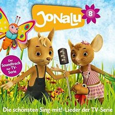 CD * JONALU - CD 8 - STAFFEL 1 - SOUNDTRACK ZUR TV-SERIE # NEU OVP §