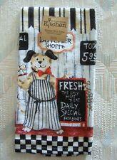 Dog Kitchen Terry Towel Kay Dee Butcher Shoppe Pattern