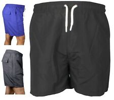 Mens Swim Shorts Swimming Zip Pockets Mesh Trunks Bottoms Swimwear Pants Pk 6