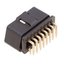 OBD II OBD 2 16 Pin 90 Degree Angle Male Plug Connector Adaptor