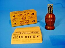 Vintage Herter's Crow Call in Box / NOS