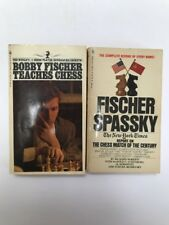 Bobby Fischer Teaches Chess Classic Guide 1972 Edition And Fischer Spassky Match