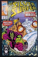 Silver Surfer #47 Ron Lim Art Infinity Gauntlet Drax vs. Warlock NM 1991