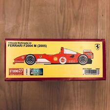 1:20 Ferrari F2004 M (2005) Studio27 ST27-FR2007 Schumacher Barrichello