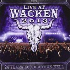 Live at Wacken 2013 by Various Artists (CD, Jul-2014, 2 Discs, UDR)