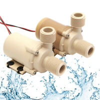 DC 12V/24V 5M 3M Solar Hot Water Brushless Motor Circulation Pump Food Grade New