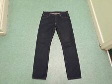 """Pantalones vaqueros Cheap Monday Pierna Delgada Cintura 32"""" pierna 34"""" se desvaneció Azul Oscuro para Hombre Jeans"""