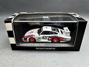 1:43..Minichamps--Porsche 935/78 Moby Dick Le Mans 1978 #43 / 2 G 431
