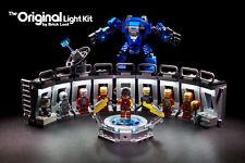 LED Lighting Kit for LEGO ® Iron Man Hall of Armor 76125