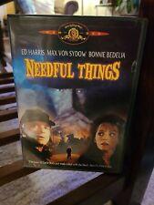 Needful Things (DVD, 2002) Stephen King - Ed Harris, Max Von Sydow Rare oop