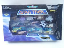 Star Trek Micro Machines Collectors Set 3 III Voyager & DS-9 with Enterprise E