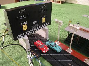 NMIB VINTAGE AURORA MoDEL MoToRING Electric Lap Counter T Jet Slot  Race Track