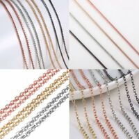 Fashion Round Men Womens Necklace Charm Thin Short Rope Chain Jewellery Holiday