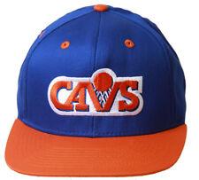 e33c4d8a50b Cleveland Cavaliers NBA Hardwood Classic Snapback Hat BlueOrange + GT  Wristband
