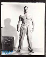 John Payne barechested costume test RARE Photo