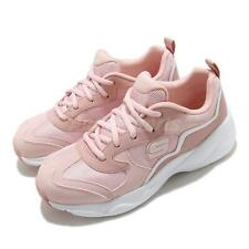 Skechers D Lites Airy-Matter Of Time Pink White Women Casual Shoes 66666231-LTPK