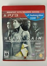 Heavy Rain Director's Cut Sony Playstation PS3 Complete Tested!