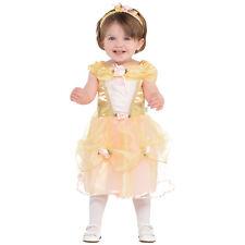 Official Disney Princess Belle Baby Toddler Girl Dress up Costume Carnival 12-18 Months