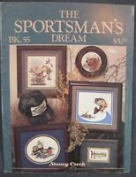 Stoney Creek Book 55 SPORTSMAN'S DREAM Counted Cross Stitch Pattern Collection