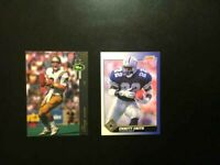 1991 SCORE 2 ROOKIES  Cards EMMITT SMITH & Aikman Dallas COWBOYS NM-MT-FREE SHIP