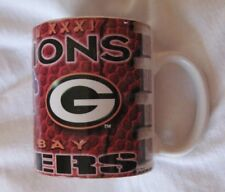 Green Bay Packers Ceramic Mug Cup Super Bowl XXXI Champions NFL