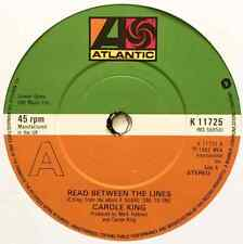 """CAROLE KING - Read Between The Lines (7"""" Single) (EX-/NM)"""