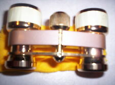 RARE BUSHNELL 3X 23mm COATED OPERA THEATRE BINOCULARS, GLASSES mother of pearl