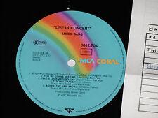 JAMES GANG -Live In Concert- LP 1979 MCA Coral Archiv-Copy mint