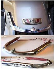 Honda Goldwing 1500 Led Front Fender Trim Amber Led 45-8537/B16-3
