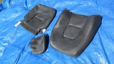 2004 Volvo S80 2.5T OEM Charcoal Driver Left Side Leather Seat Cover 3 pieces