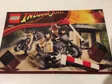 Lego 7620 - Indiana Jones Lego Instruction Manual Booklet Only