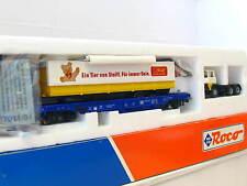 Roco H0 48011 Einheitstaschenwagen Sdkms mit Ladung Steiff DB OVP (TR19)