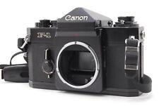 Near MINT/ CANON F-1 LATE Model Body SLR 35mm film camera from Japan
