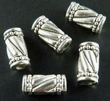 100pcs Tibet Silver Nice Tube Spacers 10.5x5mm 988