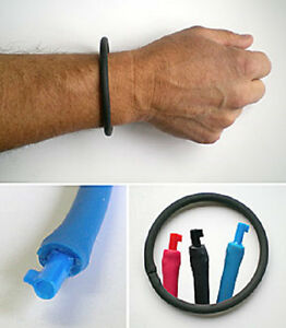 UNDERCOVER BRACELET Non Metallic Handcuff Key Bracelet For Personal Safety