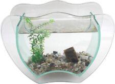 ACQUARIO Granat Vetro Set completo mini acquario per la decorazione Nanoaquarium