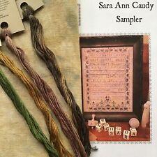 Willow Hill Samplings Sara Ann Caudy Sampler cross stitch KIT 36ct PTP linen