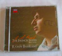 J.S. BACH - THE FRENCH SUITES - RAMIN BAHRAMI - CD  NUOVO E SIGILLATO -