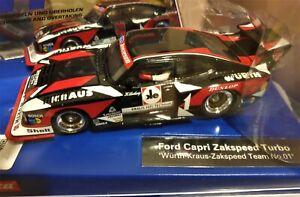 """Ford Capri Zakspeed Turbo """"WÜRTH"""" Carrera 132 Digital"""