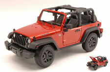 Jeep Wrangler Open Top 2014 Copper Metallic 1:18 Model MAISTO