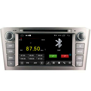 """Navi Car GPS Radio Player for Toyota Avensis T250 2003-2009 7"""" Android 10 DSP BT"""