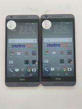 Lot of 2 HTC Desire 626s OPM9110 8GB Metro Check IMEI Grade A/B LR-663