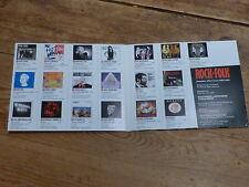 ROCK & FOLK - MONSTER CD 47 !!!RARE CD !!!!!FRANCE!!!!!!