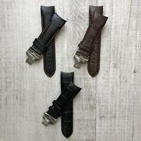 Véritable Cuir de Veau Montre Bracelet 22mm 23mm 24mm pour Tissot Couturier T035