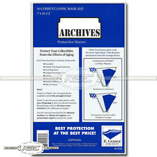 50 - Archives Current 4-Mil Mylar Comic Book Sleeves by E. Gerber - 700R