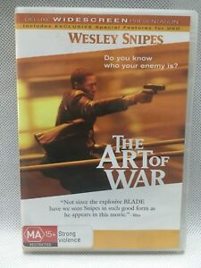 WESLEY SNIPES THE ART OF WAR Action Adventure Movie DVD