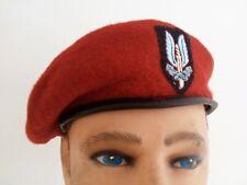 repro GB beret SAS commando WW2 type British cap irak afgha falkland casque #58